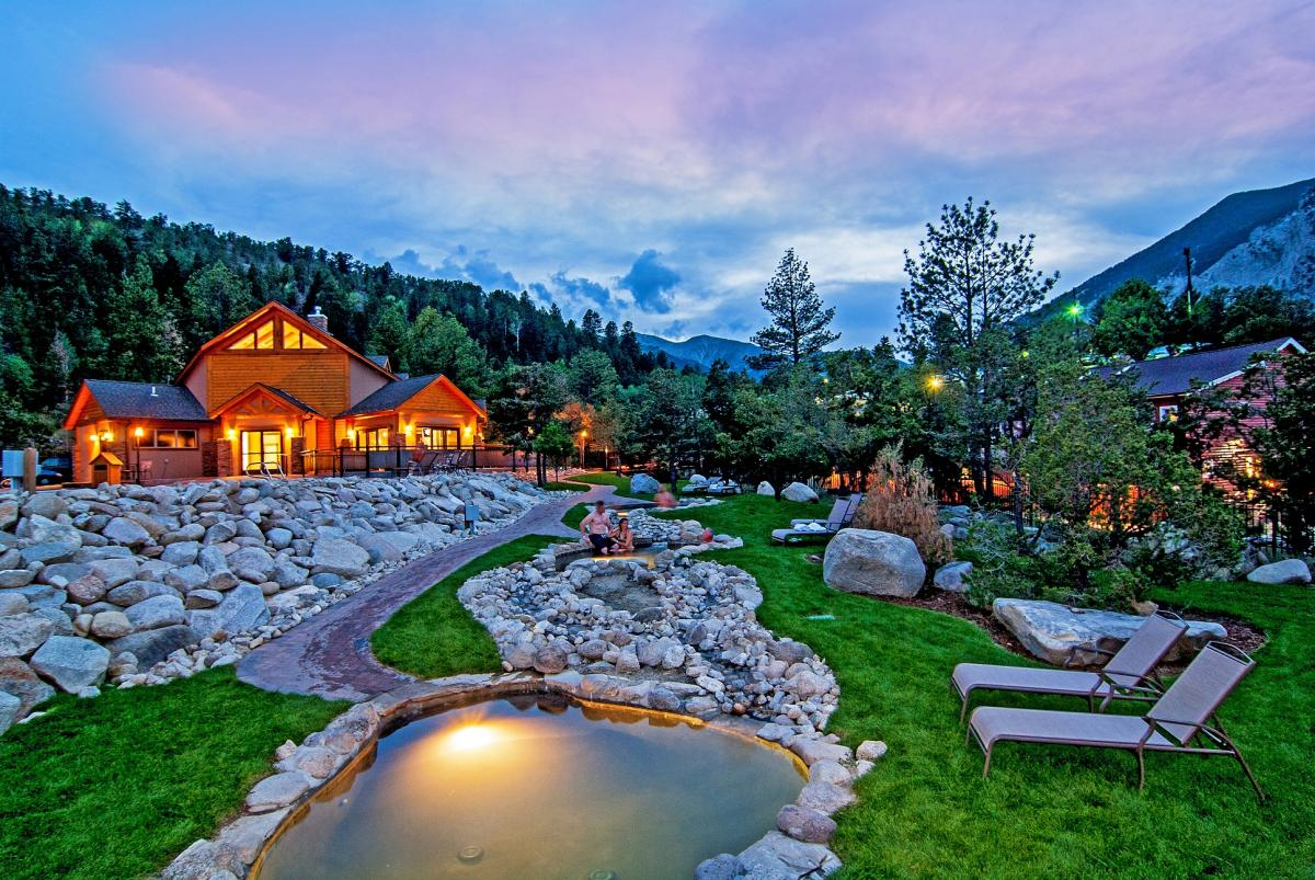 Top Hot Springs in Buena Vista, Nathrop and Salida Colorado