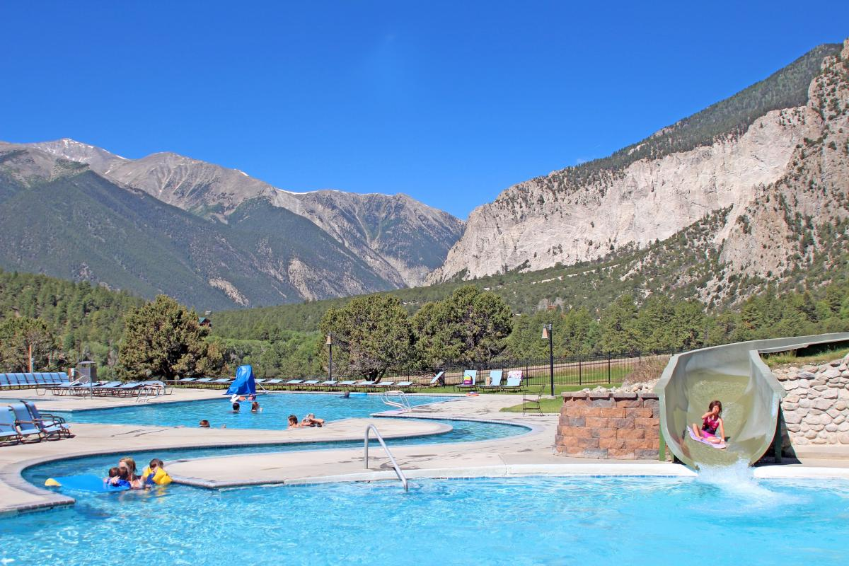 Mount Princeton Hot Springs in Colorado