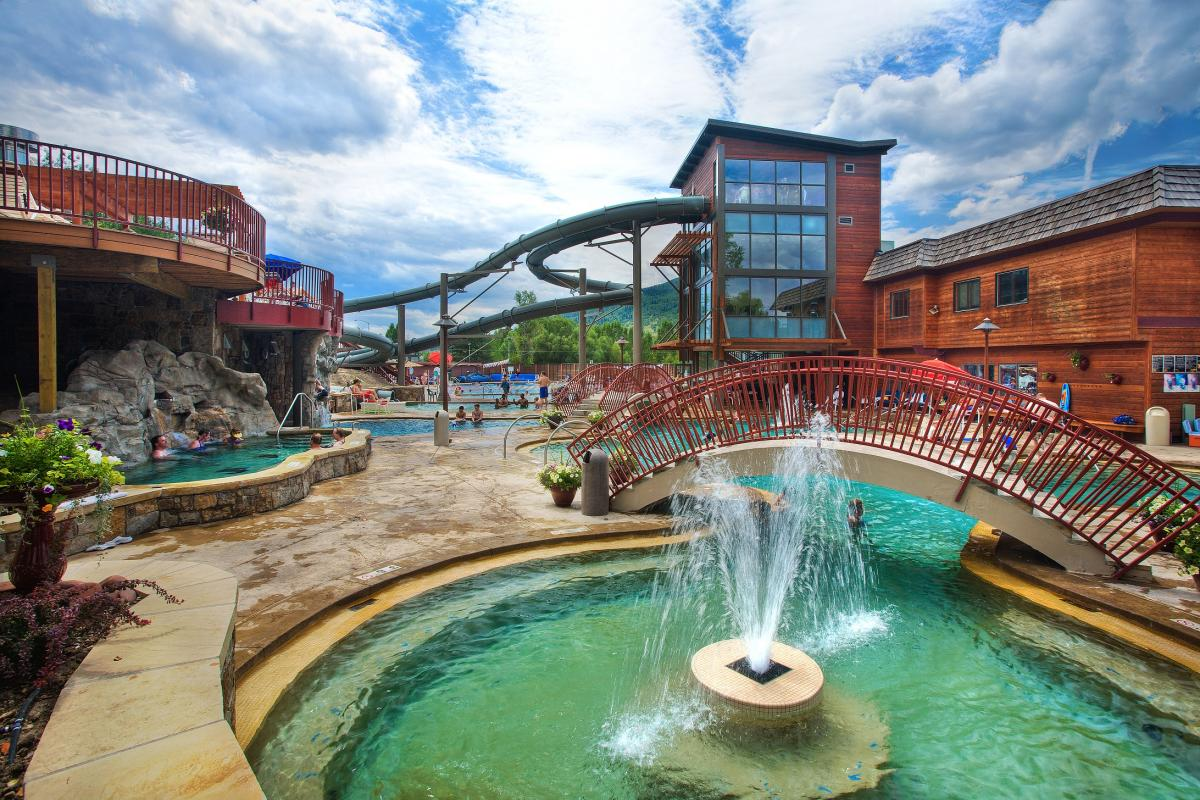 Old Town Hot Springs in Steamboat Springs Colorado