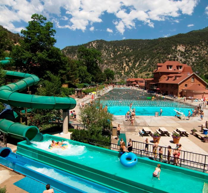 Top Hotel Pool In The Usa Found In Glenwood Springs Colorado