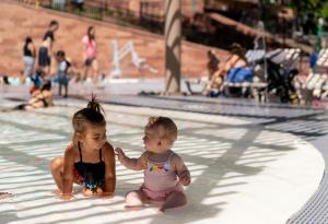 Zero Entry Toddler Pool